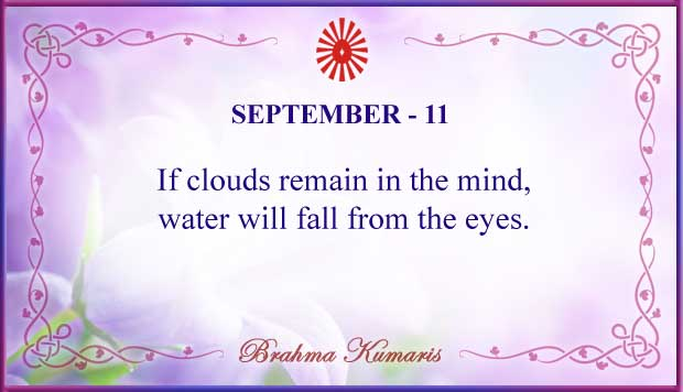 Thought For The Day September 11