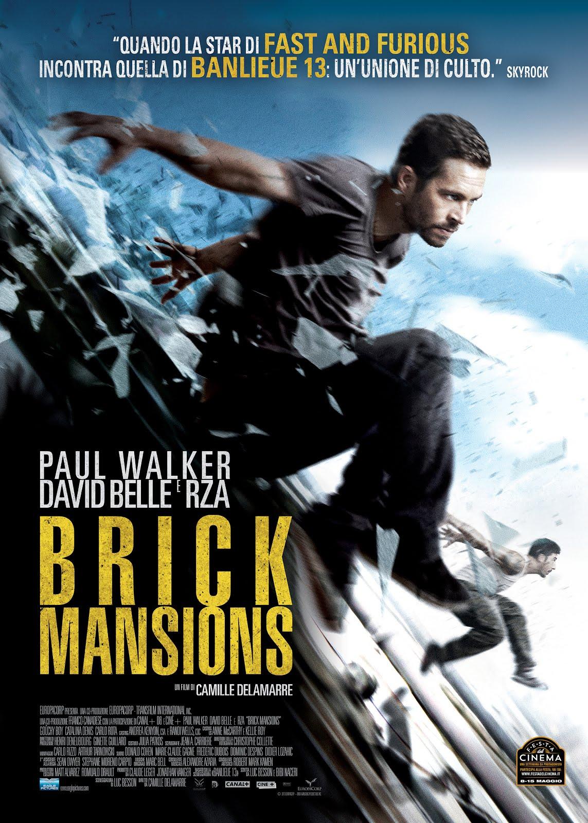 Brick Mansions 2014 Dual Audio 720p BluRay [Hindi – English] ESubs