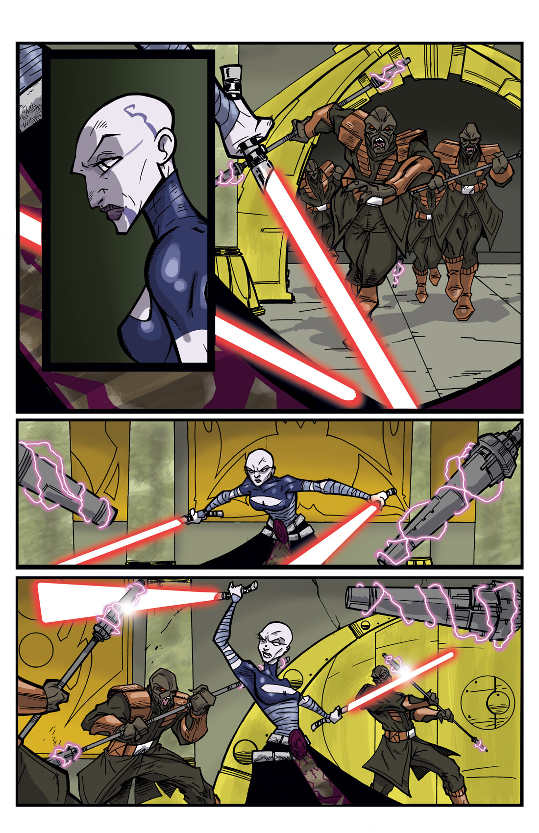 Read online Star Wars: Tales From The Clone Wars comic -  Issue # TPB - 42