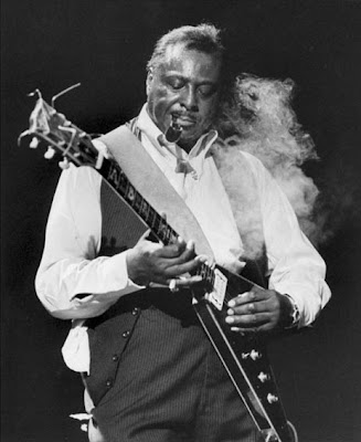 llopdelblues albert king stevie ray vaughan in session 1983. Black Bedroom Furniture Sets. Home Design Ideas