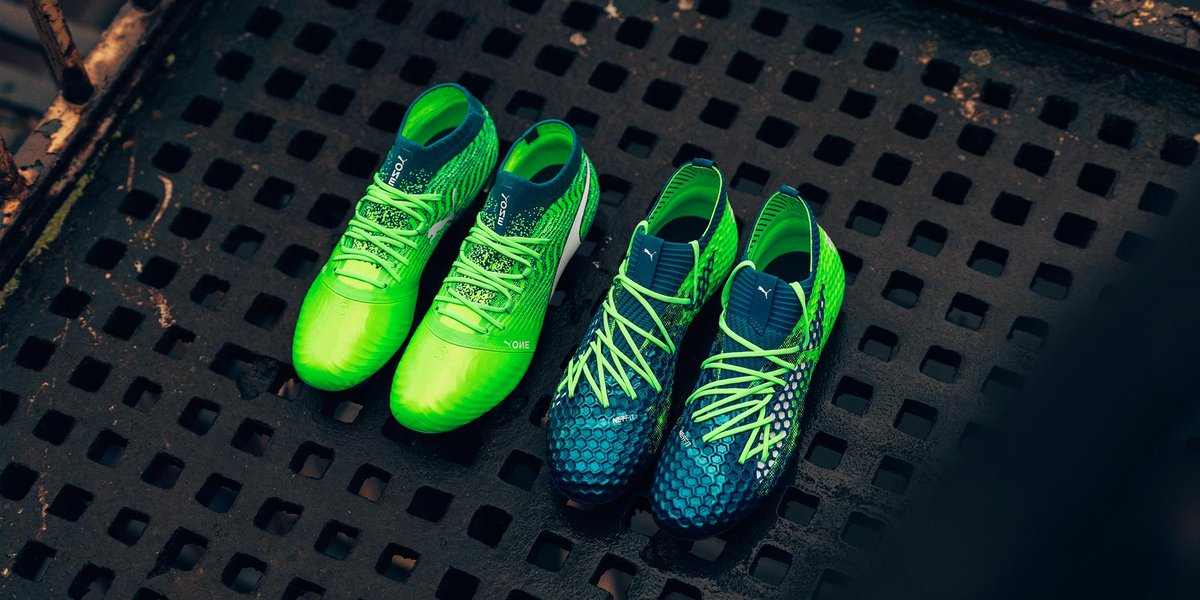 25ec432e7008 The Deep Lagoon / Puma White / Green Gecko Puma Future Netfit 18.1 football  boot is expected to be the last paint job of the first-gen Future football  boot ...