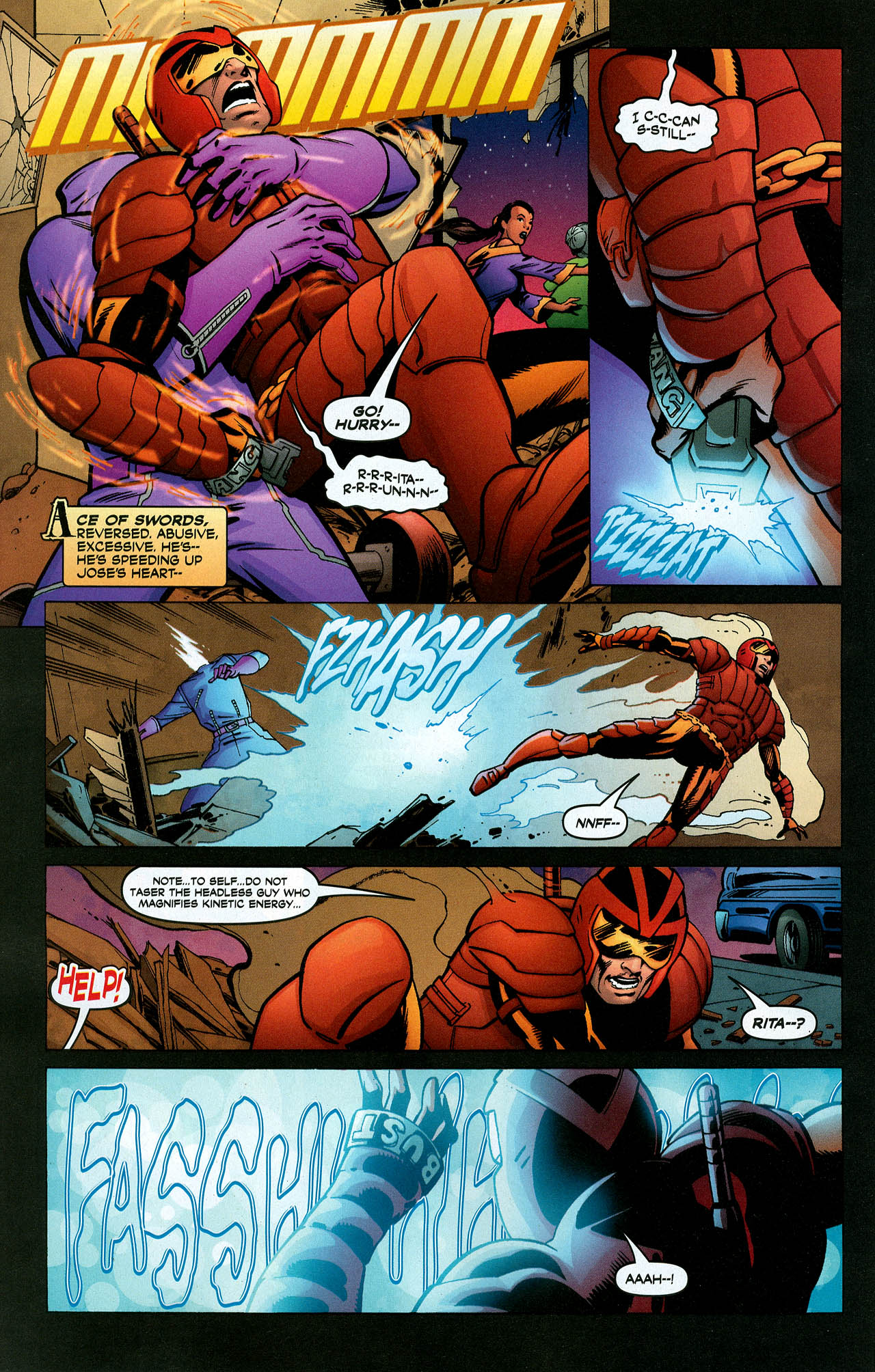Read online Trinity (2008) comic -  Issue #5 - 29