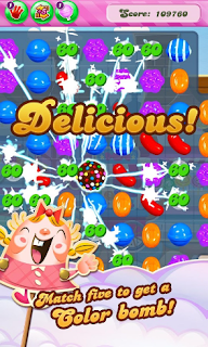 Game Android Candy Crush Saga Petualang dengan puzlle