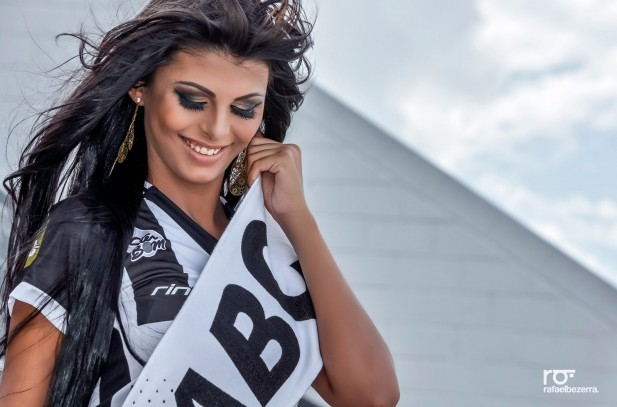 Flávia Nogueira a musa do ABC