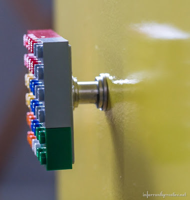 DIY lego knob