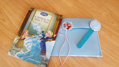 DIY Frozen bookmarks and book cover