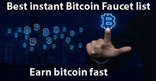 Earn free bitcoin and free satoshi from best bitcoin faucet instant ...