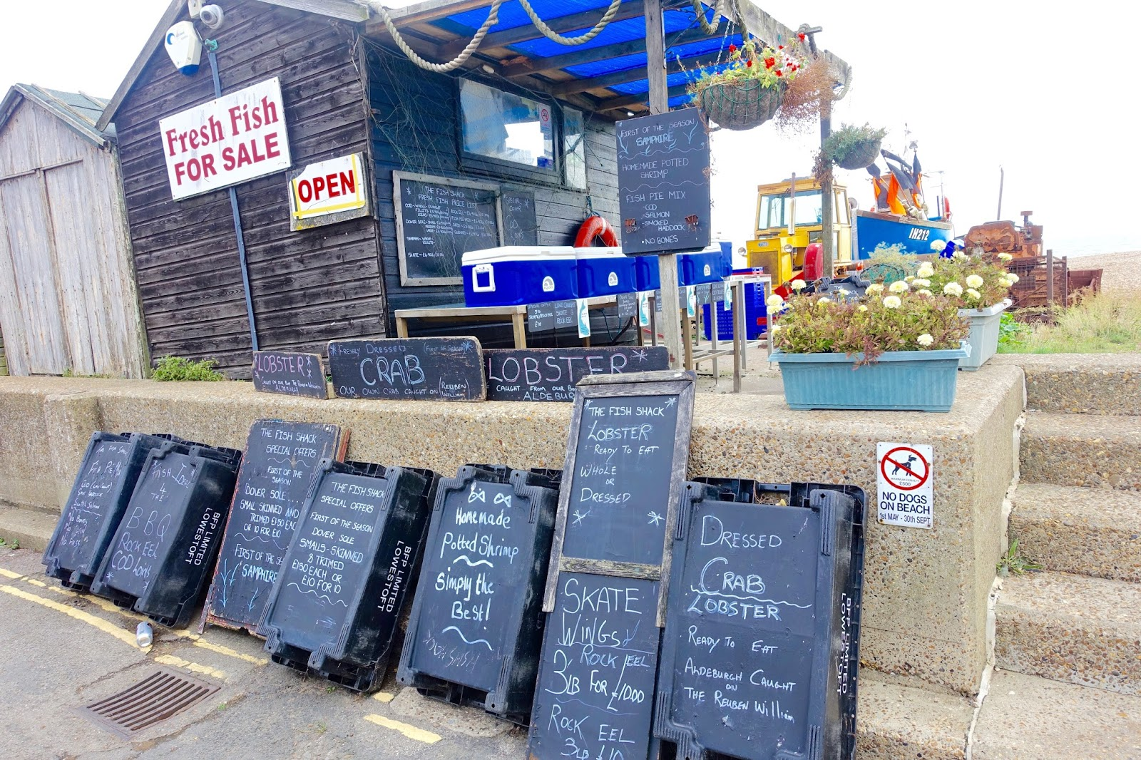 fresh fish for sale aldeburgh