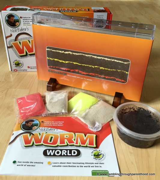 Worm World by Interplay UK: includes everything to help set up a wormery at home