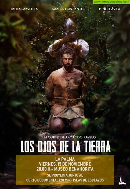 Cultura presenta este viernes el  cortometraje 'Los ojos de la tierra' sobre la esclavitud en Canarias en el siglo XV