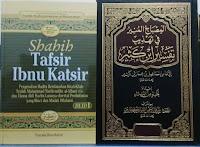Jual Shahih Tafsir Ibnu Katsir Edisi Bahasa Indonesia dan Bahasa Arab