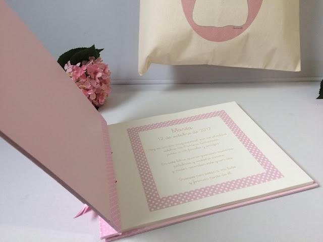 libro de firmas de comunión personalizado