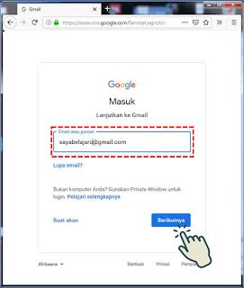 Menambahkan Akun Gmail di PC/ Laptop 2