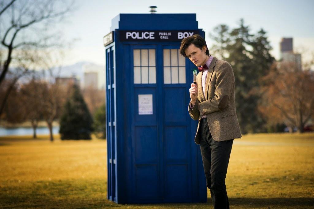 Il Dott. WHO e il TARDIS!