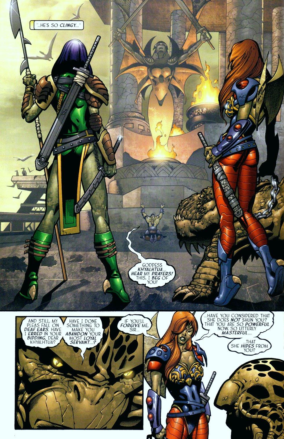 Read online Sigil (2000) comic -  Issue #18 - 9