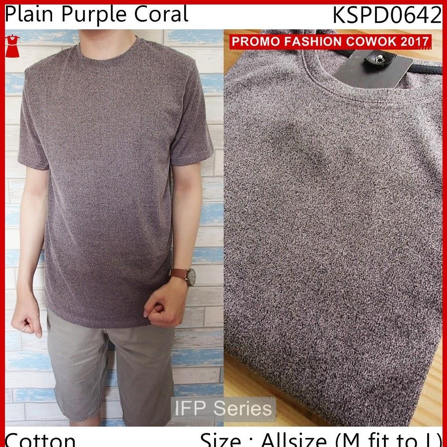 BIMFGP055 Purple Kaos Lengan Pendek Pria PROMO