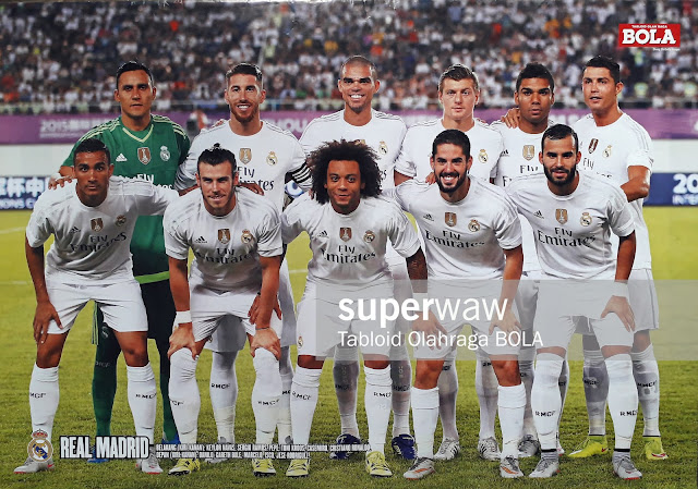 TEAM REAL MADRID 2015