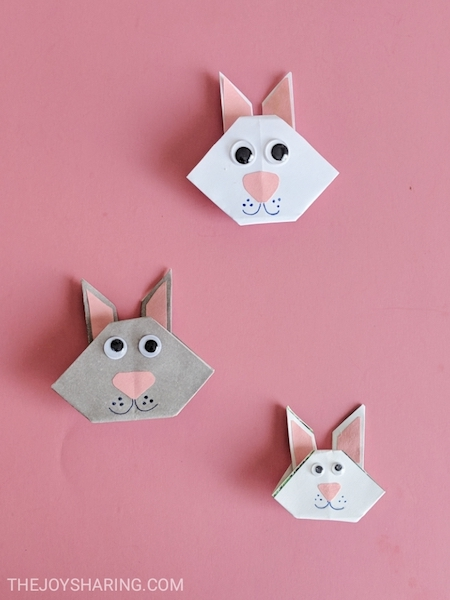 Easter, Origami, Kids Crafts, Paper Crafts, Easter Bunny, Origami Rabbit