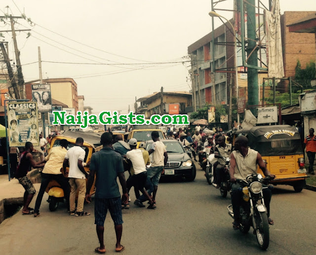 keke okada clash revenue collectors onitsha