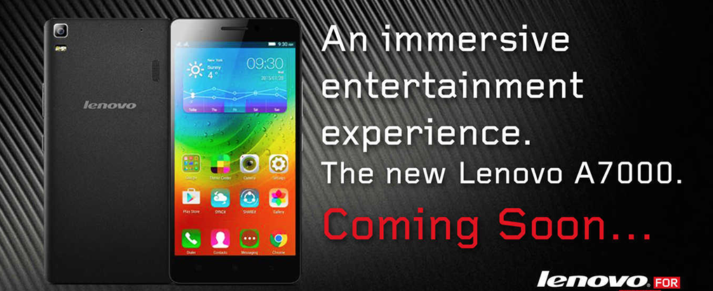 Lenovo A7000 the Dolby ATMOS-Equipped Smartphone is Coming to the