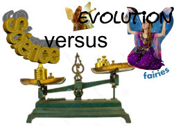 Science versus evolution