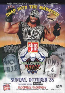 WCW Halloween Havoc 1997 review - Event poster