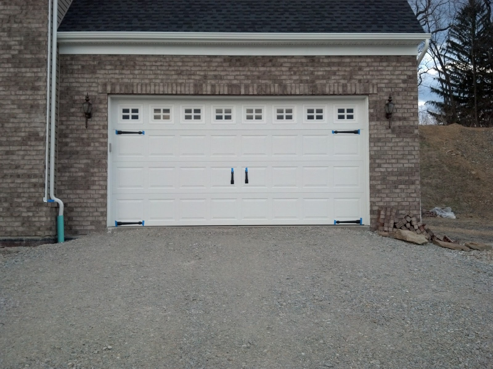 Savoy Ryan Home Garage Door Decorative Hardware Dilemma