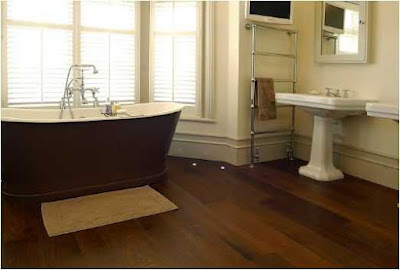 Simple solutions bathroom ideas dark floor