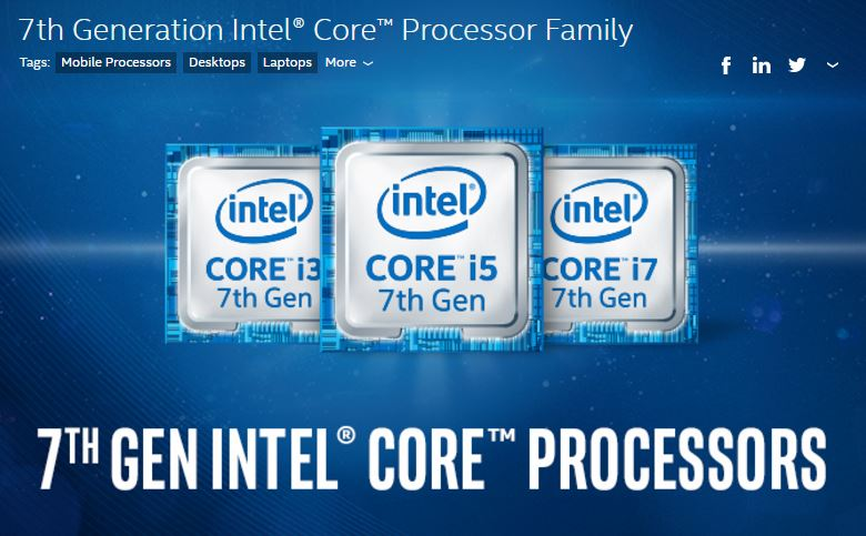 Intel Kaby Lake CPU listing and pricing revealed