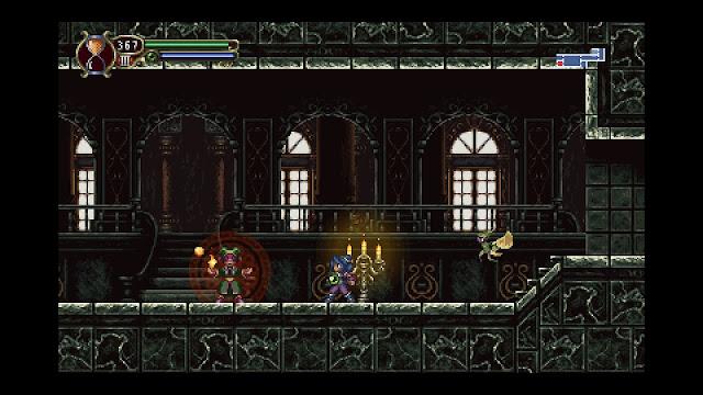 Timespinner - Castle - Joker enemy
