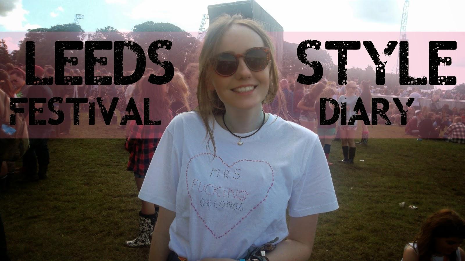 leeds festival style diary OOTD, tom delonge t-shirt, mrs delonge t shirt