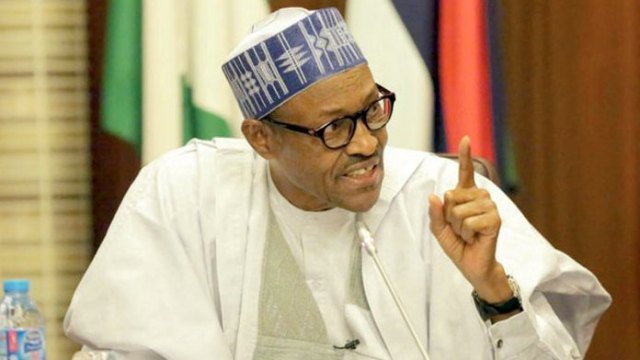 2019: Don't challenge me, Buhari begs youths