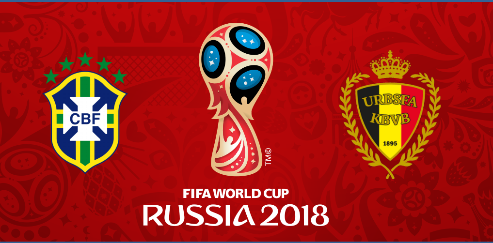 Fifa world cup preview - brazil vs belgium