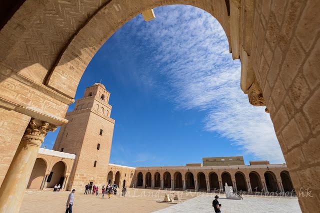 突尼西亞, tunisia, 開羅安, 清真寺,  Kairouan Grand Mosque