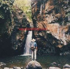 Barak Wall Waterfall in Bali
