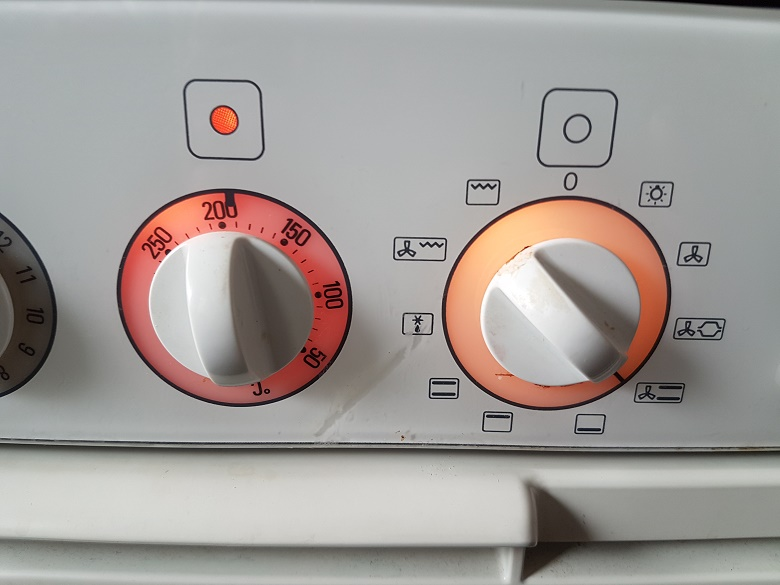 Temperatura del horno