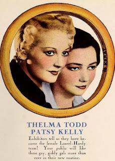 Thelma Todd Patsy Kelly