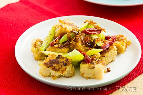 XO 醬炒蘿蔔糕 Pan-fried Radish Cake with XO Sauce02