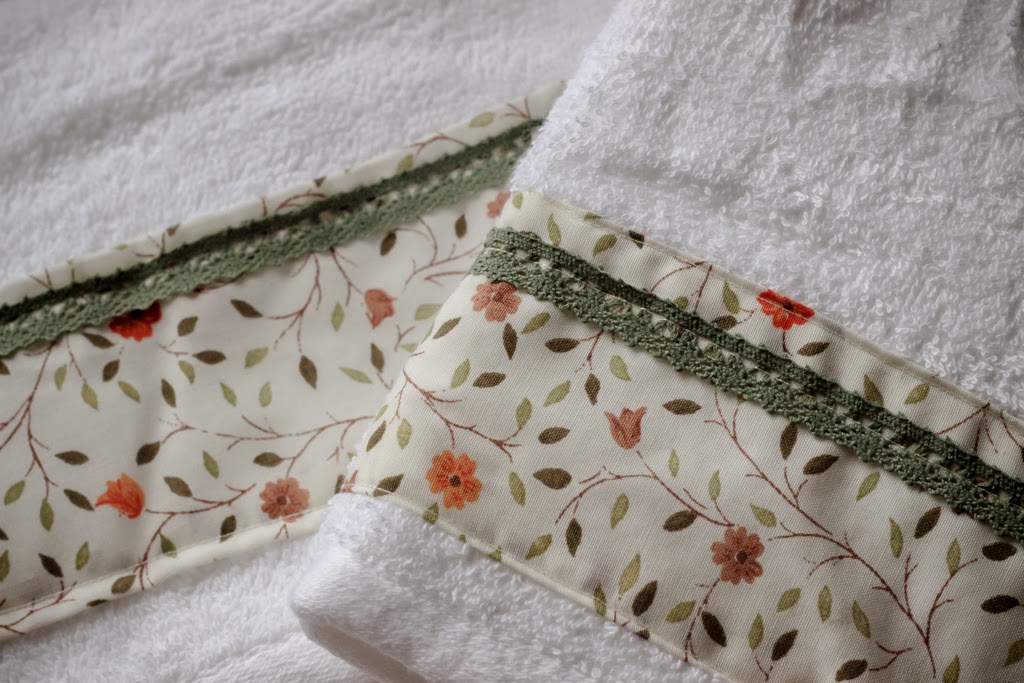 How to make: Spring-inspired guest towels