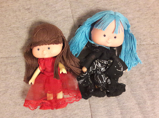 Bonecas moranguinhos misteriosas