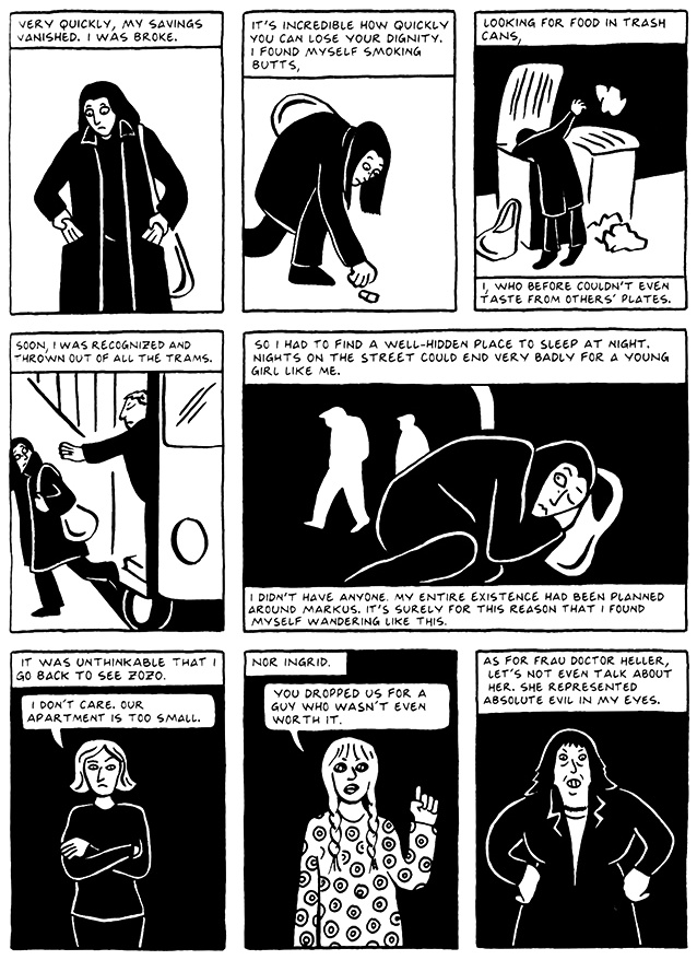 Read Chapter 9 - The Veil, page 85, from Marjane Satrapi's Persepolis 2 - The Story of a Return
