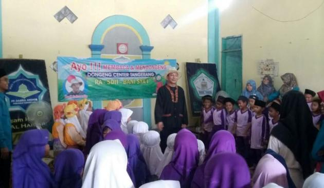 Kang Budi : Sang Pelestari Dongeng di Tangerang