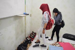 pengukuran sepatu