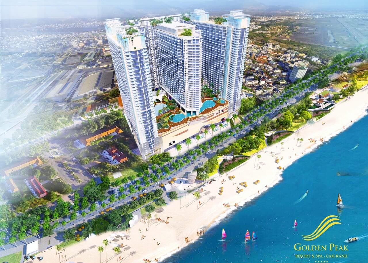 Phối cảnh tổng thể dự án Golden Peak Nha Trang