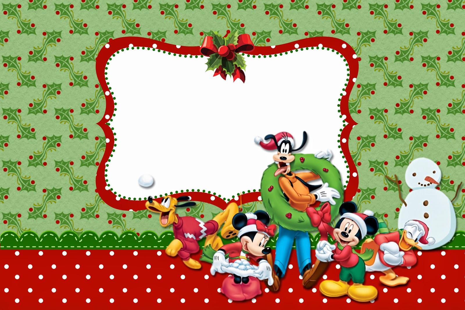 mickey minnie sp cial no l invitations imprimer gratuites oh my fiesta en fran ais. Black Bedroom Furniture Sets. Home Design Ideas