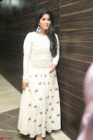 Megha Akash in beautiful White Anarkali Dress at Pre release function of Movie LIE ~ Celebrities Galleries 071.JPG