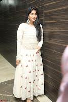 Megha Akash in beautiful White Anarkali Dress at Pre release function of Movie LIE ~ Celebrities Galleries 071.JPG