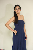 Radhika Mehrotra in sleevless Strap less Blue Gown At Prema Entha Madhuram Priyuraalu Antha Katinam Movie Interview ~  Exclusive 093.JPG