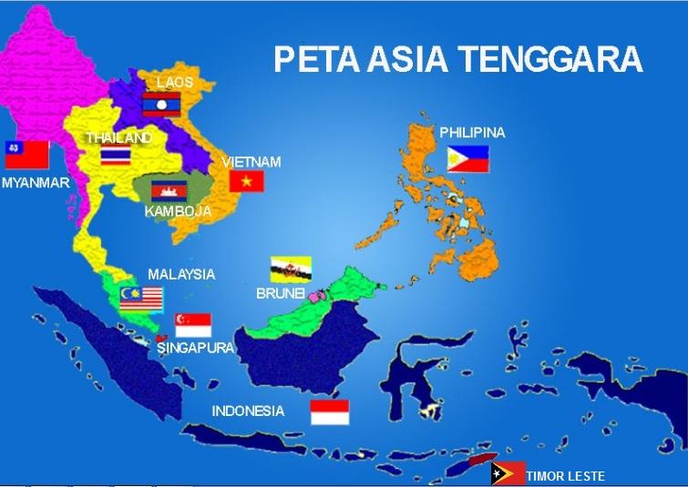 Gambar Negara Asean Beserta Ibukotanya 11 Negara Negara Di Asia Tenggara Beserta Keterangannya