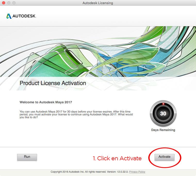 Autodesk Maya 2017 mac